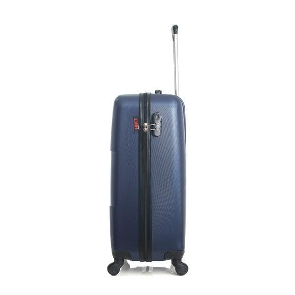 Tmavě modrý cestovní kufr ve na kolečkách Hero Coronado, 61 l