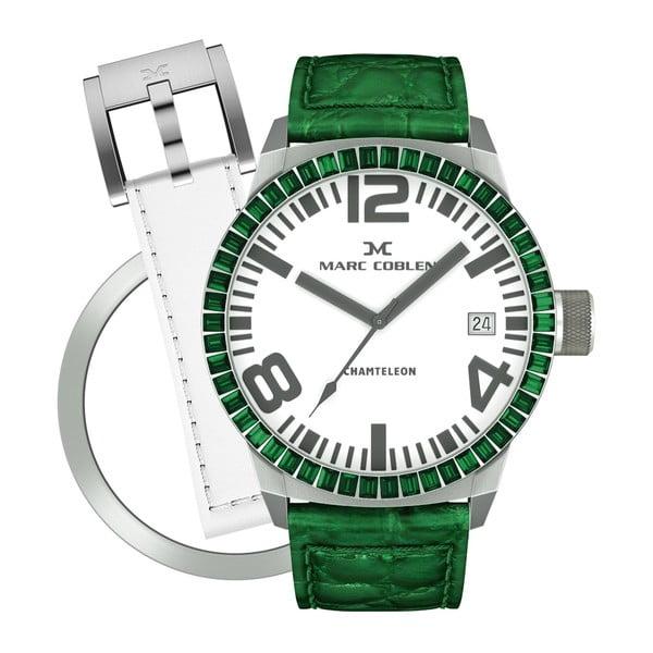 Dámské hodinky Marc Coblen s páskem a kroužkem navíc P68