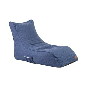 Modrý sedací vak Evergreen House Comfy