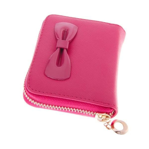 Dámská malá peněženka Ladiest, tmavě růžová