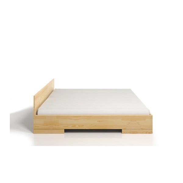 Pat dublu din lemn de pin SKANDICA Spectrum Maxi, 180 x 200 cm