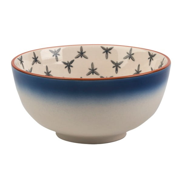 Modro-bílá mísa z keramiky Creative Tops Drift, ⌀11,5 cm