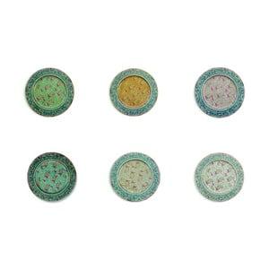 Set 6 farfurii din tablă Villa d'Este Sottopiatto, Ø 33 cm