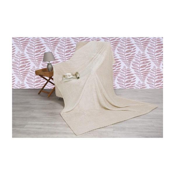 Pătură din amestec de bumbac Aksu Vizon, 200 x 150 cm
