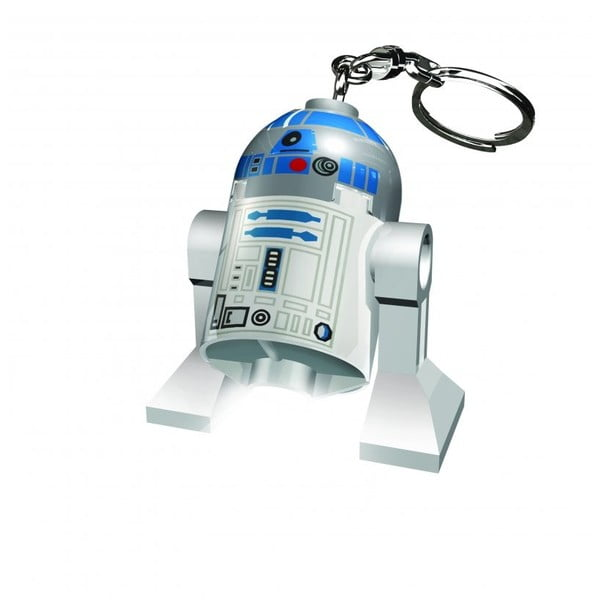 Breloc luminos Lego Star Wars R2D2