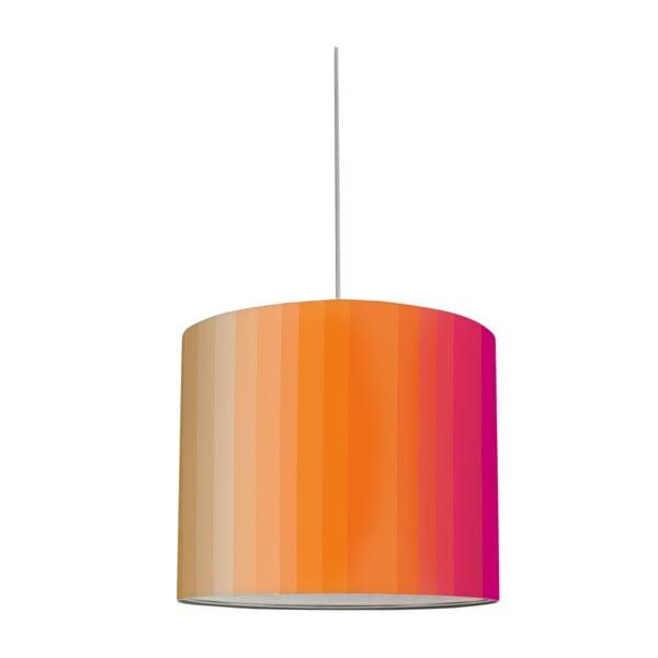 Stínidlo Stripes Peach/Dragonfruit