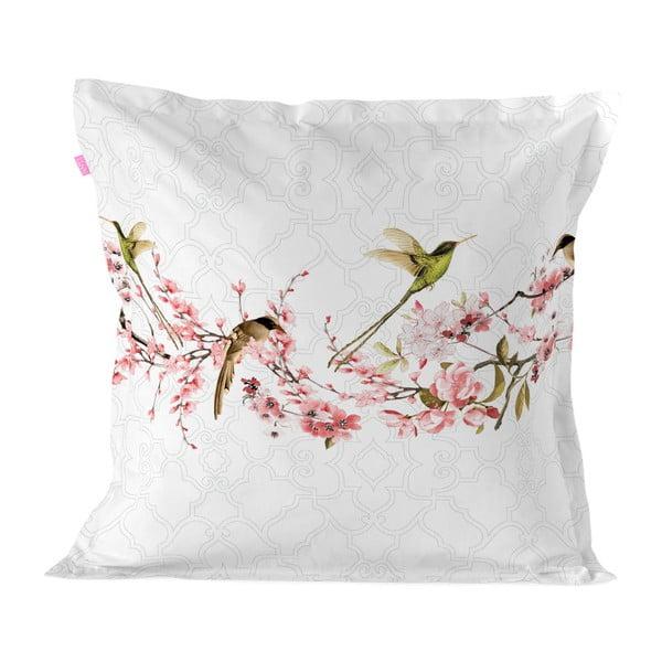 Bawełniana poszewka na poduszkę Happy Friday Sakura, 60x60 cm
