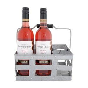 Kovová přepravka na víno EsschertDesignBBQ