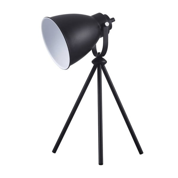 Černá stolní lampa BRITOP Lighting Marla Black