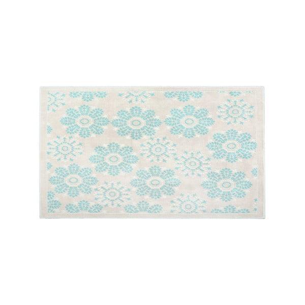 Bavlněný koberec Randa 160x230 cm, modrý