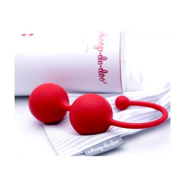 Červené designové venušiny kuličky Whoop.de.doo, 65 g