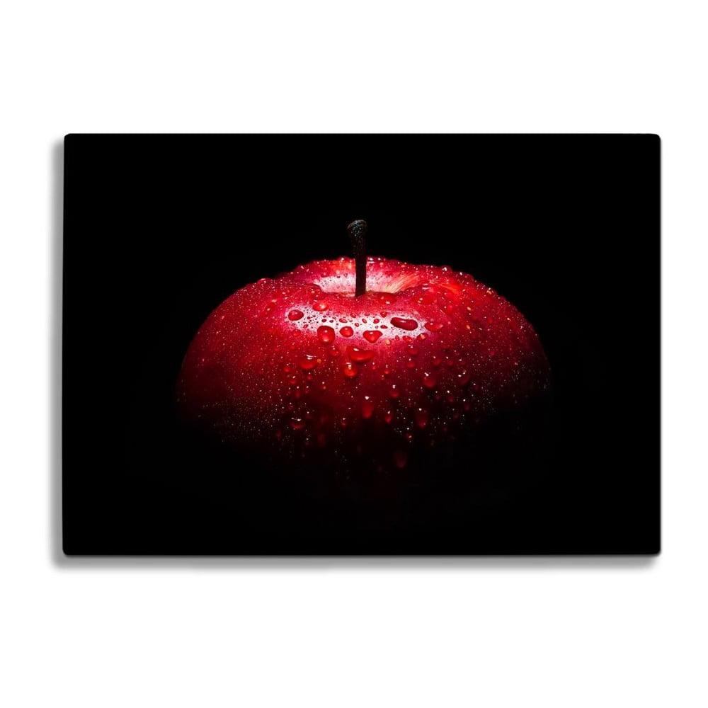 Skleněné prkénko na krájení Insigne Red Apple