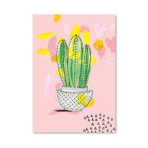 Plakát Cactus, 30x42 cm