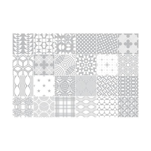 Zestaw 24 naklejek Ambiance Scandi, 60x90 cm
