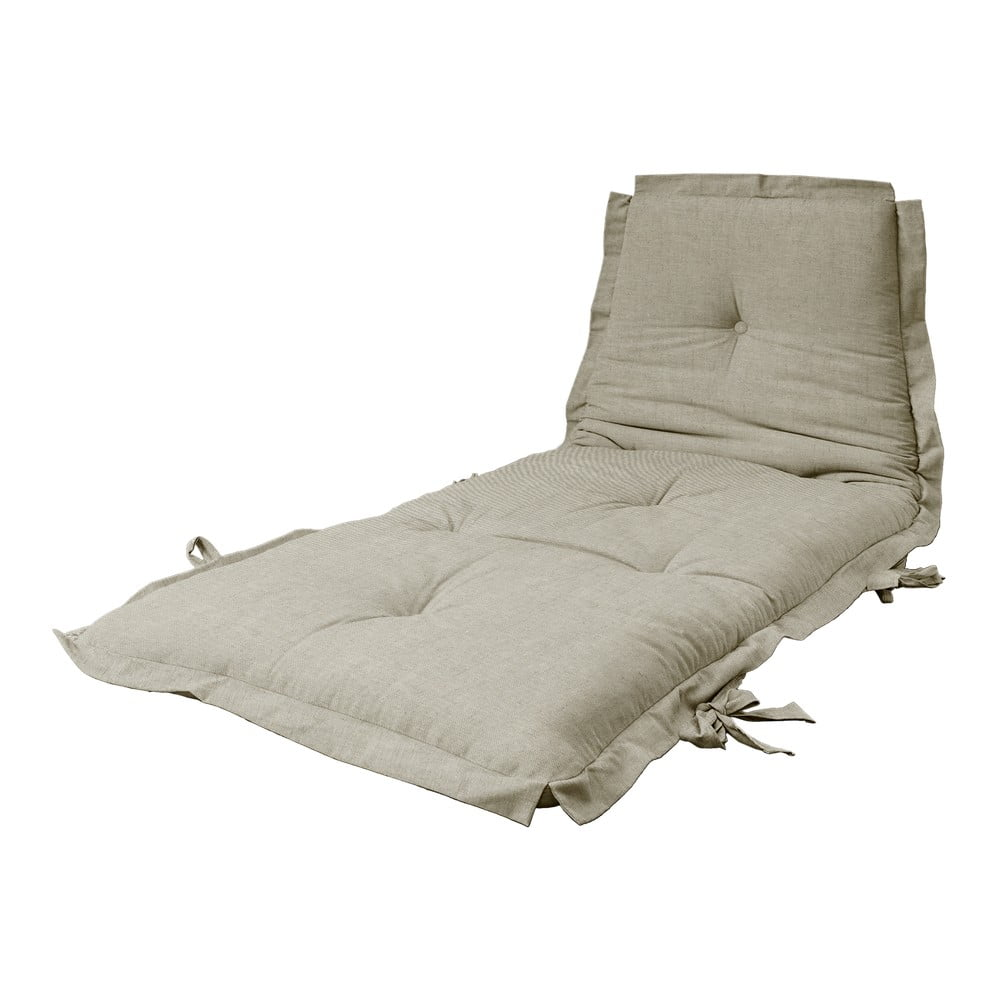 Variabilní futon Karup Design Sit  Sleep Linen Beige