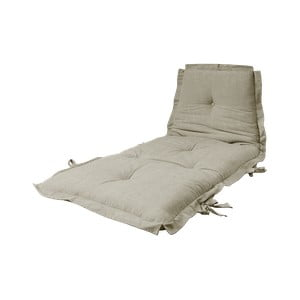 Variabilní futon Karup Design Sit & Sleep Linen, 80 x 200 cm