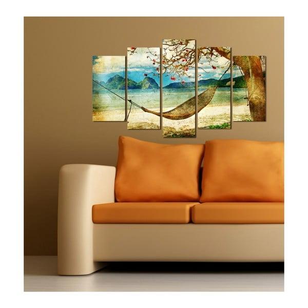 Viacdielny obraz Insigne Manou, 102×60 cm