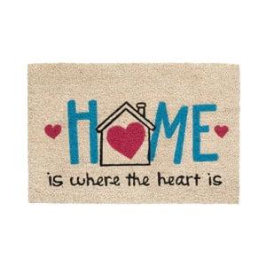 Rohožka Hamat Home Heart, 40x60cm