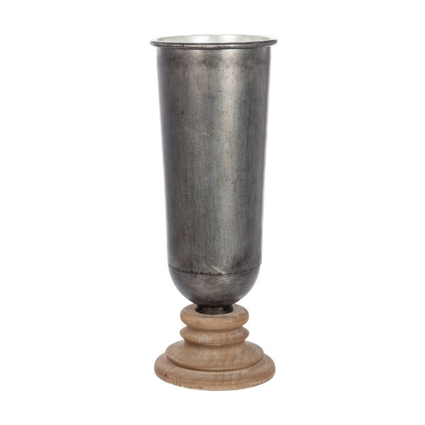 Kulatá váza Grey Nat, 20 cm
