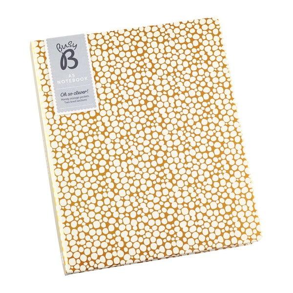 Agendă pentru notite cu buzunar Busy B, A5
