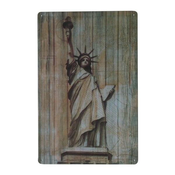 Cedule Statue of Liberty, 20x30 cm