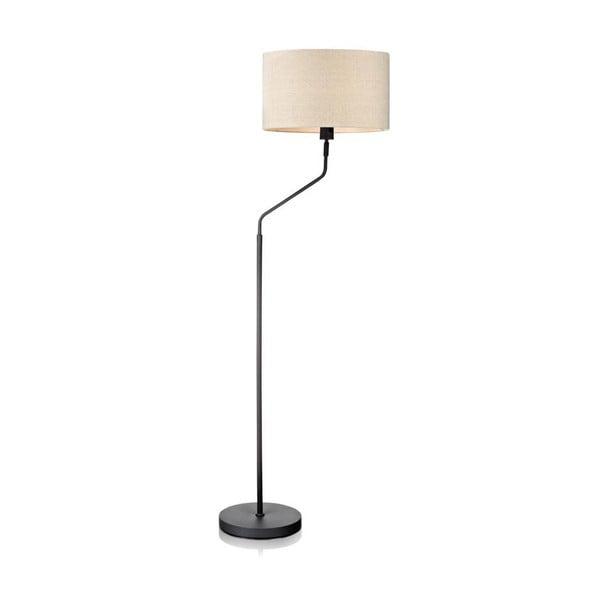 Stojací lampa Markslöjd Manhattan, šedobílá