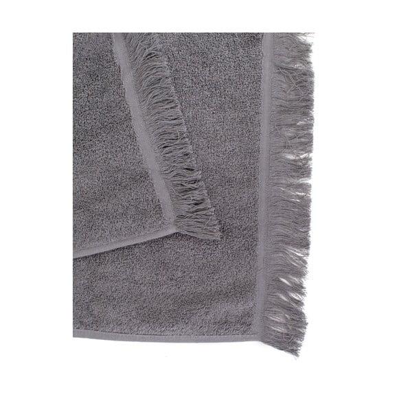 Sada 2 antracitově šedých ručníků ze 100% bavlny Bonami, 50x90 cm