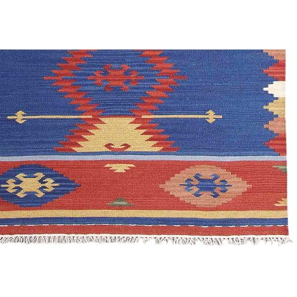 Ručně tkaný koberec Bakero Kilim Classic K78, 125x185 cm