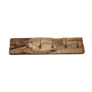 Nástěnný věšák  z teakového dřeva HSM collection Roeb