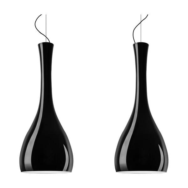 Dvojité světlo ITTEKI Elementary black glossy/black /black