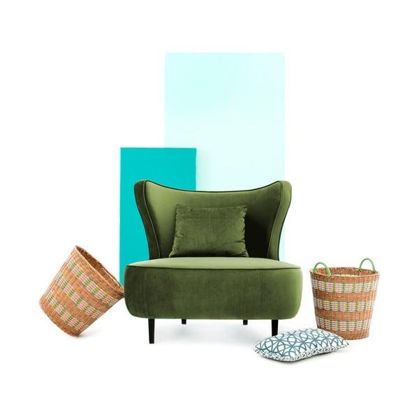 Zelené křeslo Vivonita Douglas Love Seat