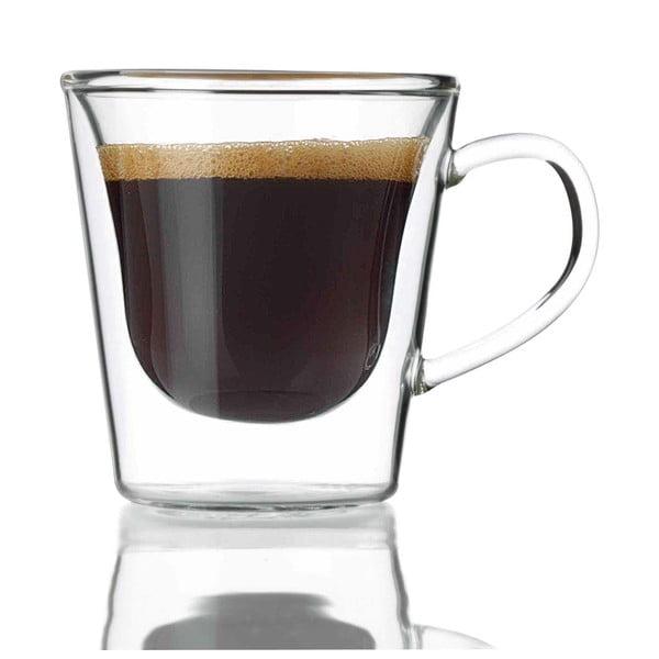 Set 2 pahare cu pereți dubli Bredemeijer Espresso