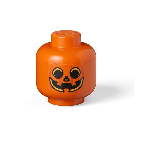 Pumpkin Head S narancssárga tárolódoboz - LEGO®