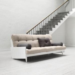 Canapea extensibilă Karup Indie White/Vision/Gris