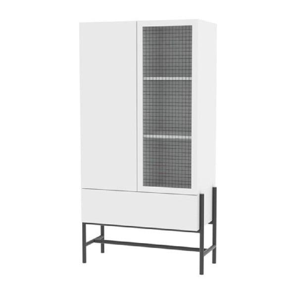 Norse üvegajtós szekrény, magasság 150 cm - Interstil