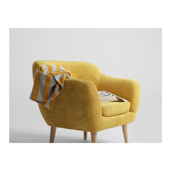 Žluté křeslo Custom Form Marget
