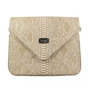 Světle hnědá kabelka Dara bags Envelope No.549