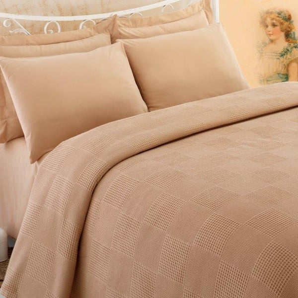 Přehoz přes postel Pique 156, 160x230 cm