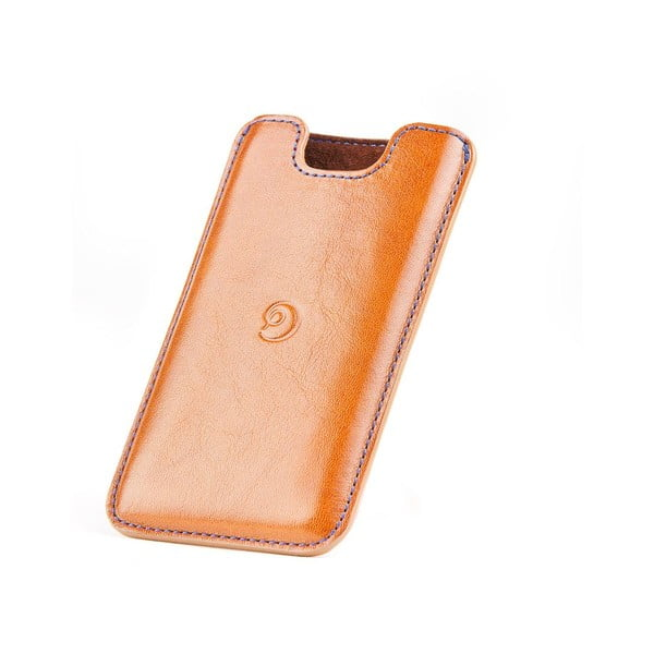 Danny P. kožený obal na iPhone 5 Cognac
