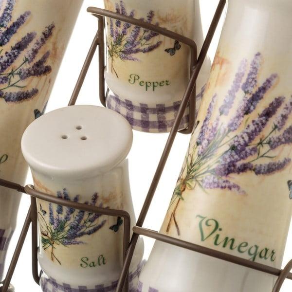 Set din ceramică pentru mirodenii Unimasa Lavender