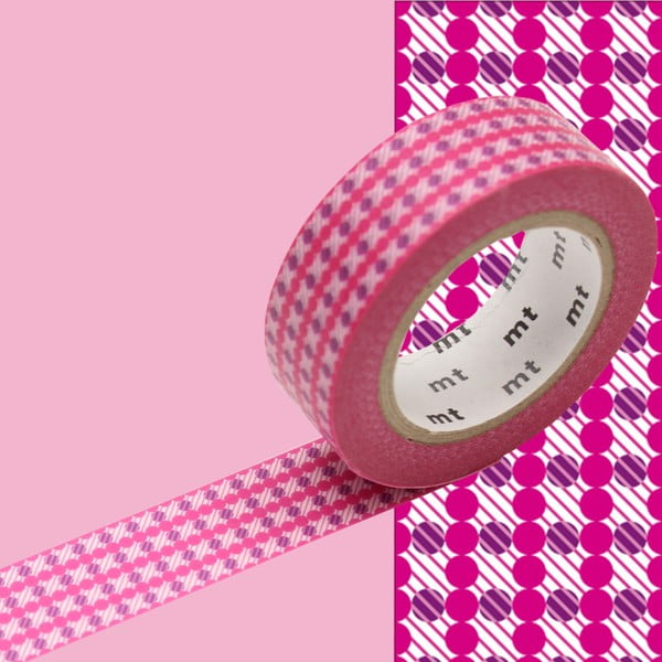 Bandă decorativă Washi MT Masking Tape Zoe, rolă 10 m