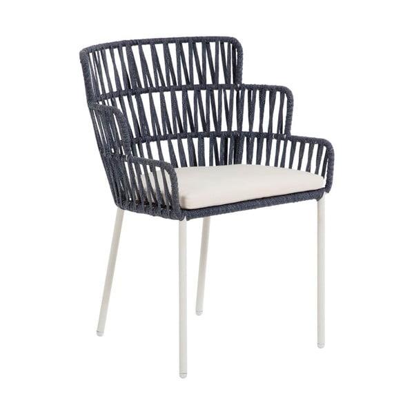 Niebieskie krzesło La Forma Robyn