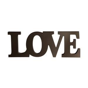 Dekorativní dřevěný nápis Love
