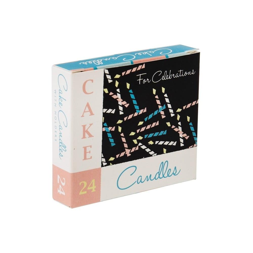 Sada 24 dortových svíček Rex London Old Times