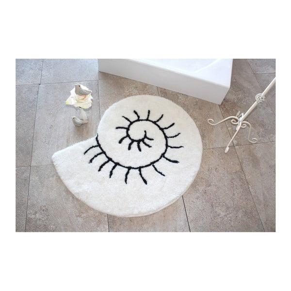 Alessia Helix Ecru fürdőszobai kilépő, Ø 90 cm