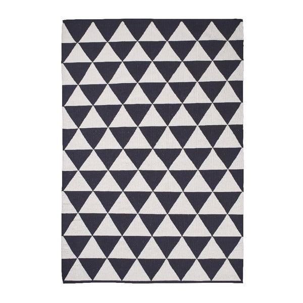 Černo-bílý koberec Think Rugs At Manhattan, 120x170cm
