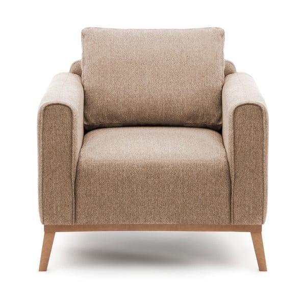 Milton homokbarna fotel - Vivonita