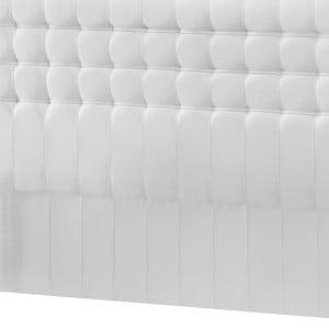 Bílé čelo postele Novative Sylphyde, 180 x 118 cm