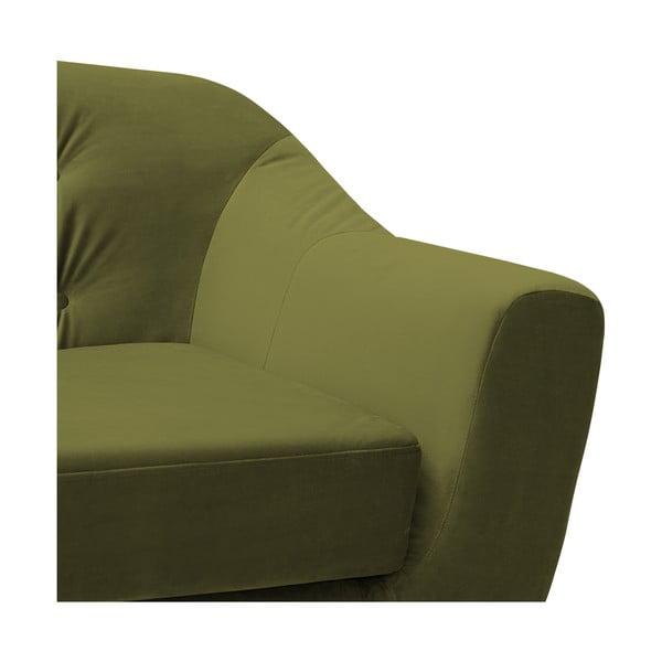 Canapea 2 locuri Vivonita Laurel Olive, verde