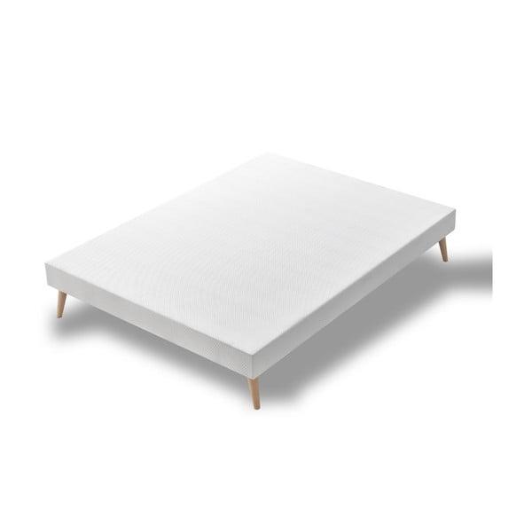 Łóżko 2-osobowe Bobochic Paris Blanc, 140x190 cm